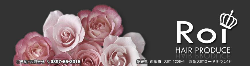 愛媛県西条市のヘアサロン/カットハウス...ヘアプロデュース「Roi」