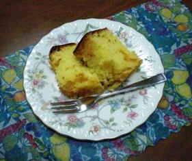 ダイダイのケーキ