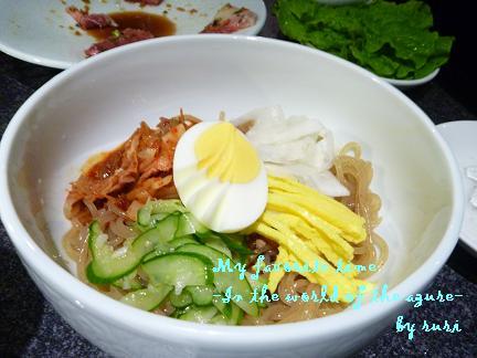 ビビンバ冷麺