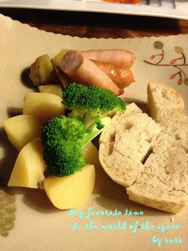 チーズフォンデュの具