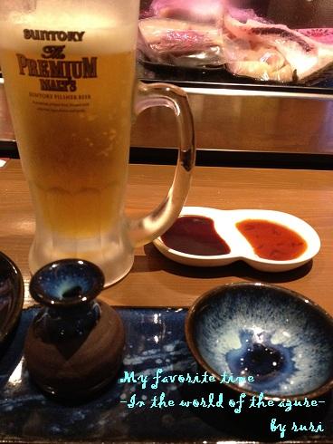 食前酒とビール