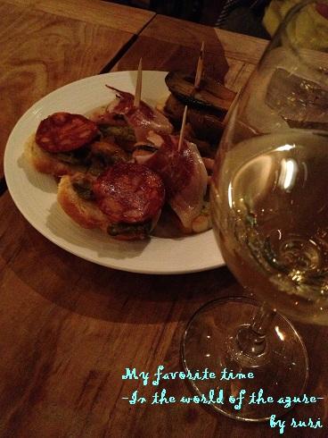 タパス&オーガニックワイン