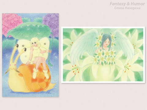 今月新発売のポストカード☆