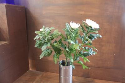 フラワー祭壇 お供えのお花 ご葬儀 家族葬 生花祭壇 いわき市 小名浜の花屋 花国湘南台店