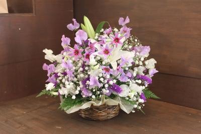 儀 安い 家族葬 生花祭壇 いわき市 小名浜の花屋 花国湘南台店