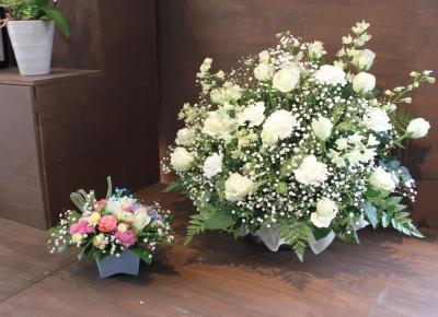 お供え 洋花 いわき市 小名浜の花屋 花国湘南台店