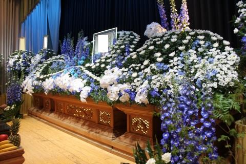 小名浜、葬儀、良心、いわき市、小名浜の花屋、花国、湘南台店