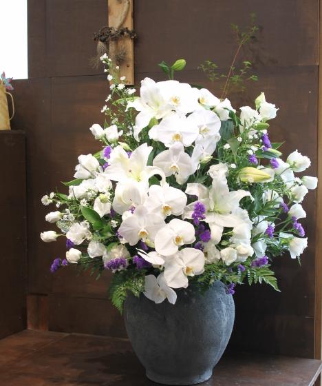いわき市 花国 お花の画像 お供え お悔み 家族葬 生花祭壇