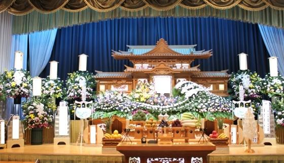 家族葬、お供え、葬儀、いわき市、小名浜の花屋、花国、湘南台店