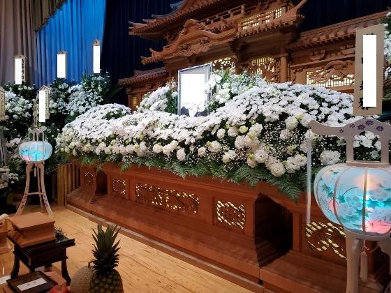 本多斎苑 フラワー祭壇