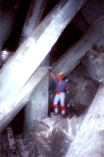 巨大クリスタルの結晶
