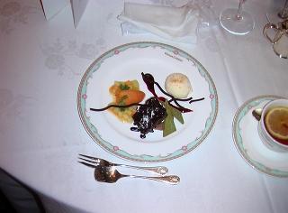 聖夜の特製デザート