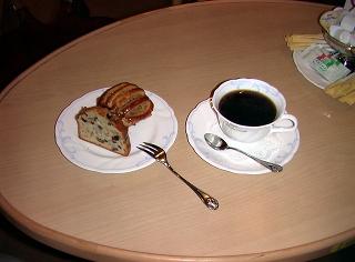 おいしいコーヒーとマフィン