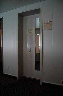 カラオケルーム「シャープ&フラット」入り口
