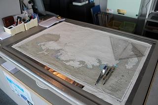 舞鶴周辺の海図