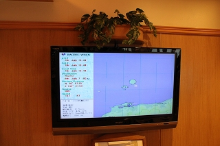 GPSによる位置表示