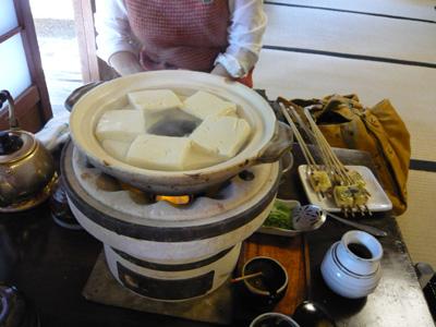南禅寺のお豆腐