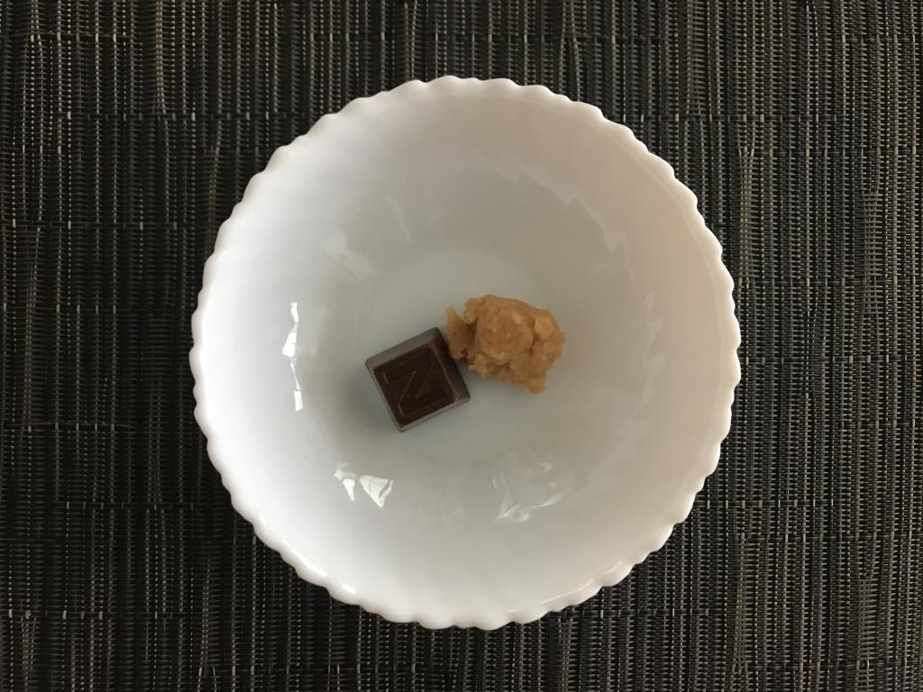 味噌とチョコ