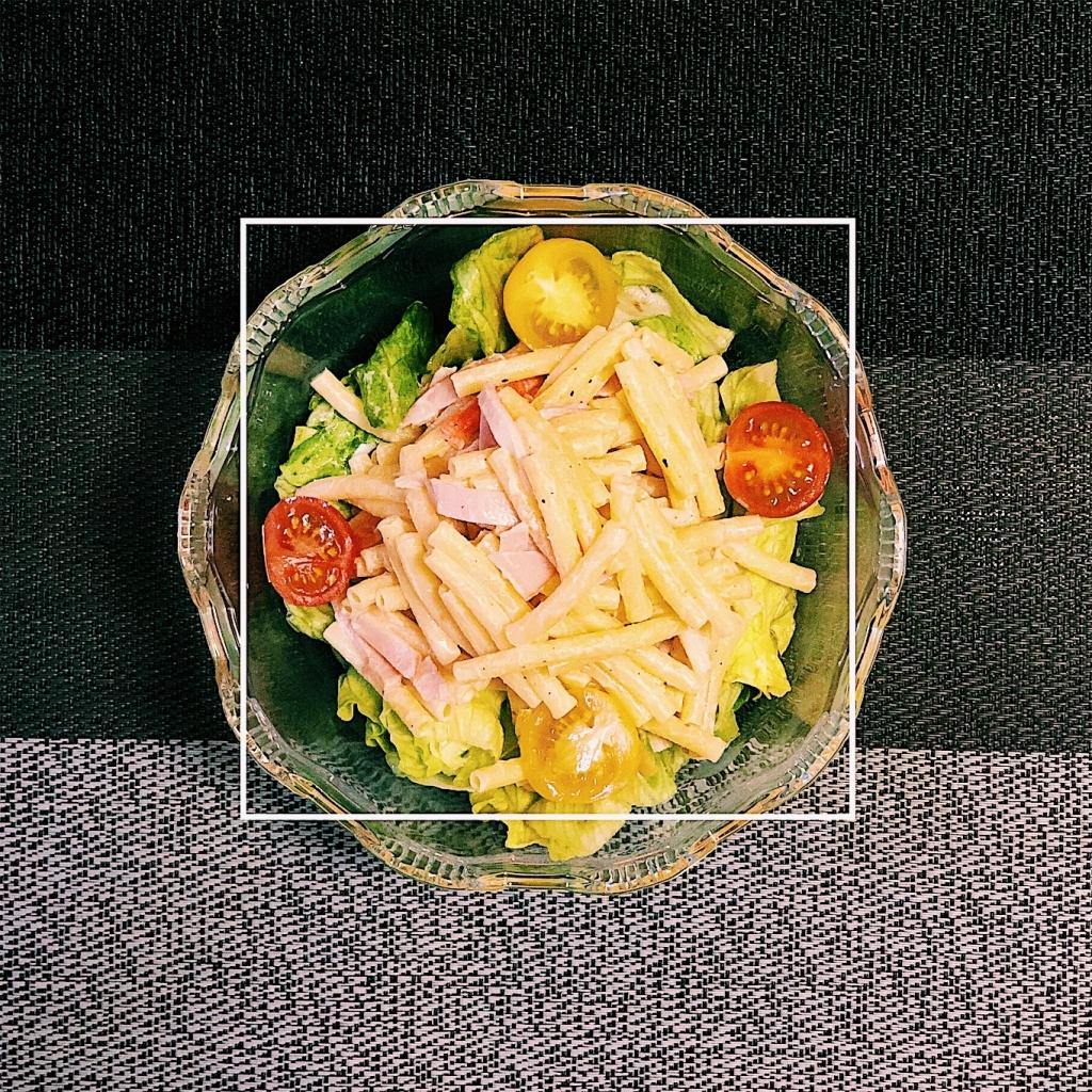 味噌のマカロニサラダ