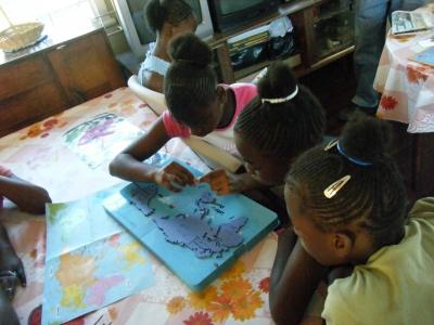 ジャマイカを支援する会 地図写真1