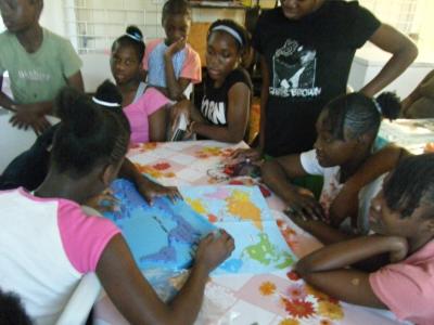 ジャマイカを支援する会 地図写真2