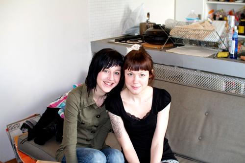 スージーとサンドラ姉妹