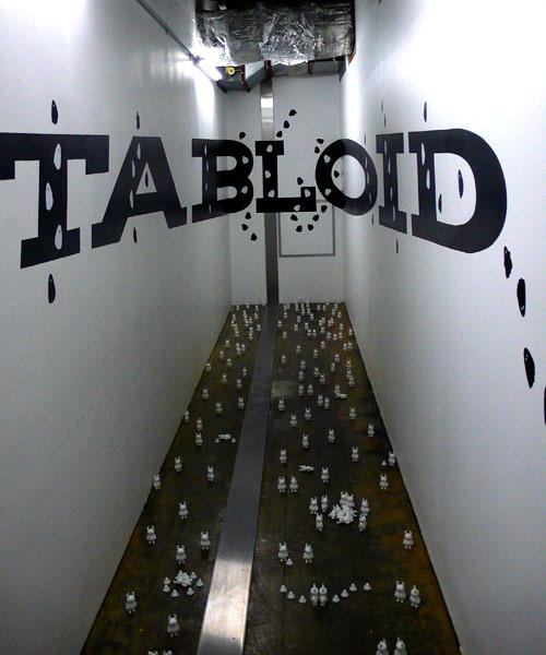 tabloid レセプション