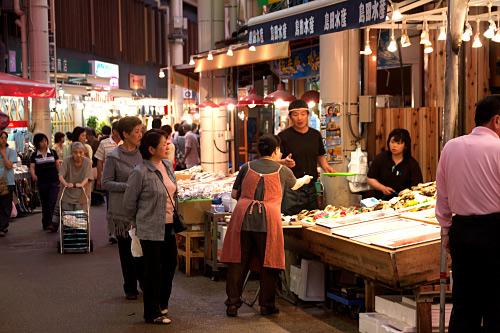 金沢:近江町魚市場