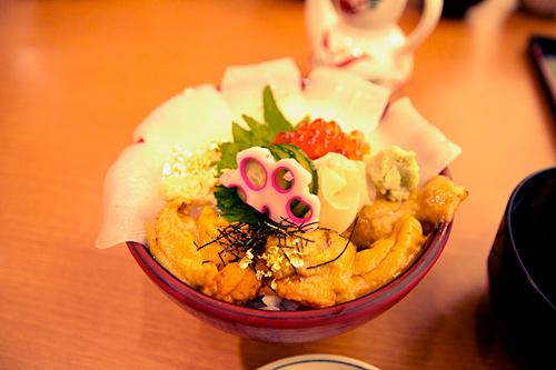 金沢:近江町魚市場回 海鮮丼