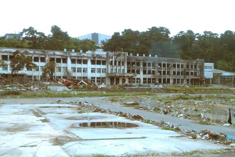 石巻市門脇小学校
