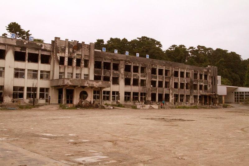 石巻市門脇中学校