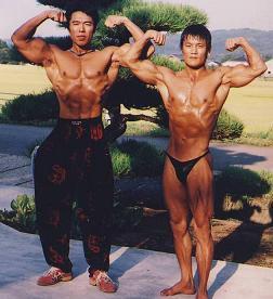 筋肉大國の民