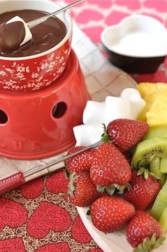 chocolate fondue - Jan Kadai