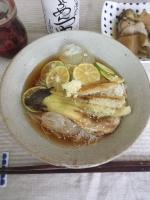 焼き茄子素麺