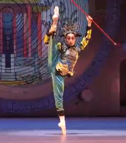 くるみ割り人形の中国の踊り