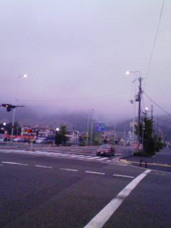 濃霧。ノーム。