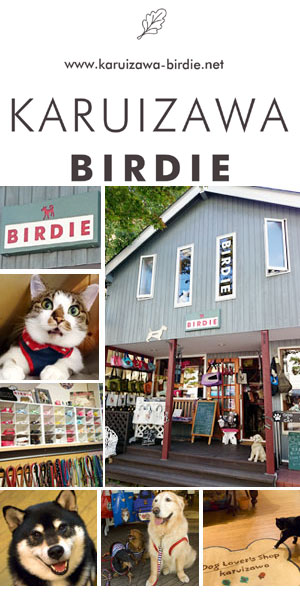 軽井沢BIRDIEDOG Lovers shop + CAT