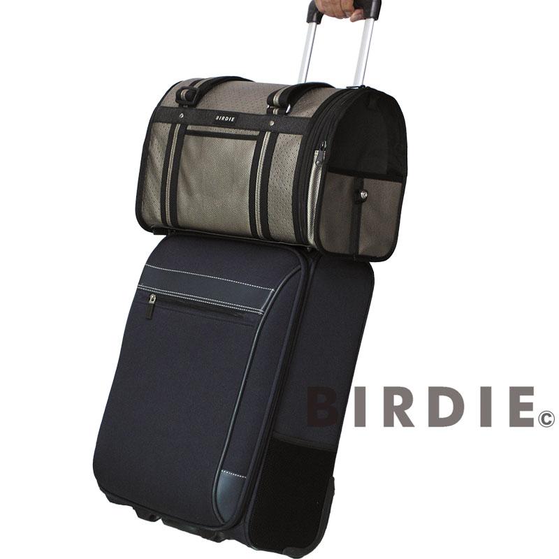 【BIRDIEドーム型キャリーバッグ】パンチングトラベル キャリー