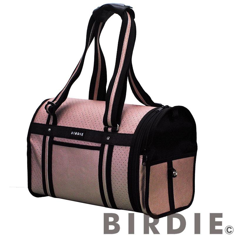 【BIRDIE ドーム型キャリーバッグ】パンチングトラベルキャリー