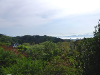 らい亭からの眺め