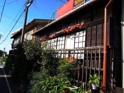 干し柿の家