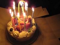 08誕生日ケーキ