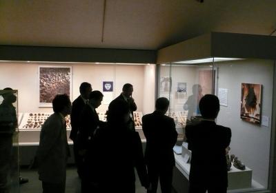 釈迦堂遺跡博物館視察
