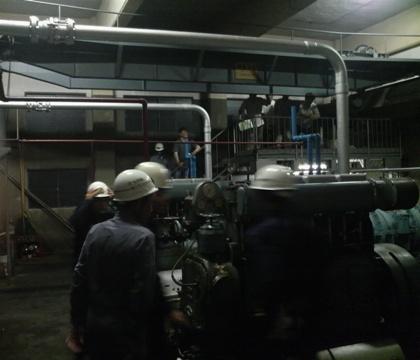 渋川排水機場見学