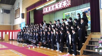 富士見小学校卒業式