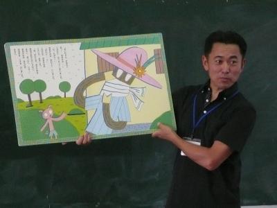 読み聞かせ(5年1組)