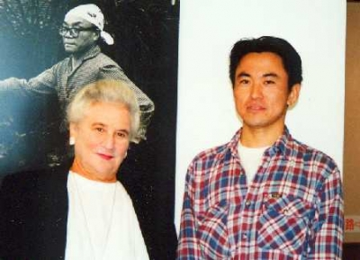 ベアテ・シロタ・ゴードンさんと(1997年12月)