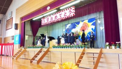 平成27年度富士見小入学式