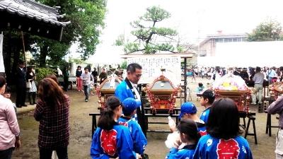 平成28年秋季例大祭(佐久神社)