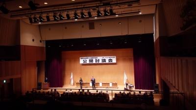 市長選挙公開討論会